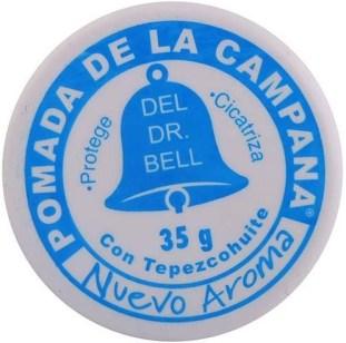 Pomada de La Campana con Tepezcohuite