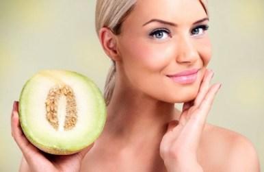 beneficios del melon para combatir las arrugas del rostro