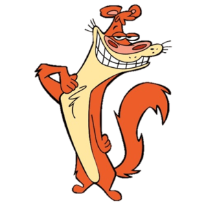 Image result for animated gif 2 weasels