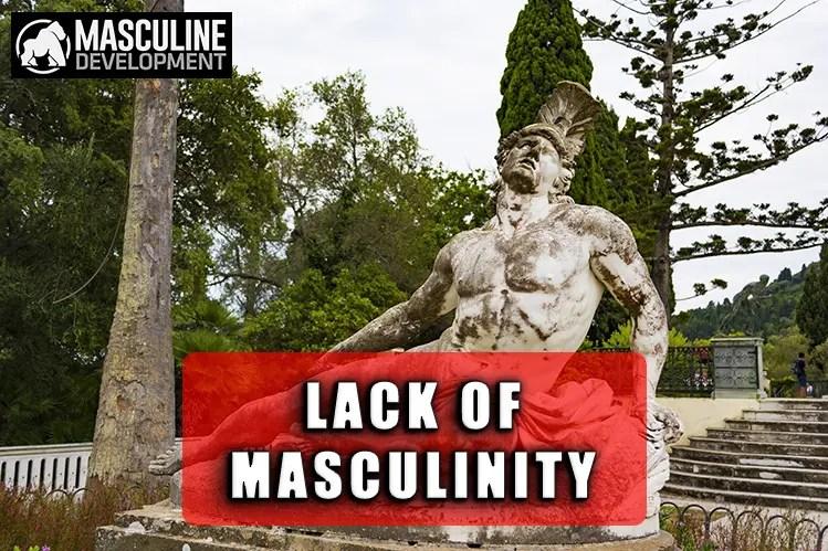 masculine men statue