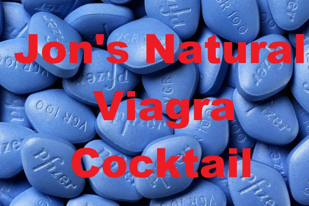 how to make natural viagra