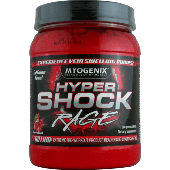 best pre-workout hypershock rage