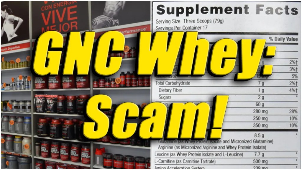 GNC Whey Protein Review Scam