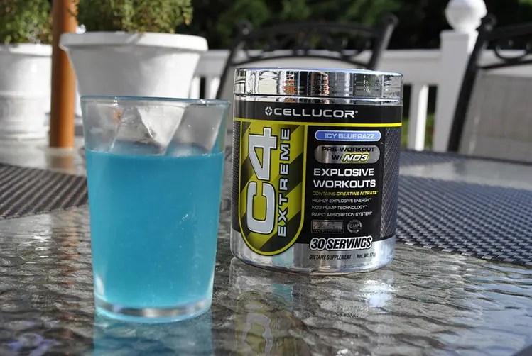 c4 pre workout review blue razz