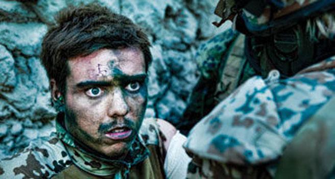 un'immagine del docu-film Armadillo