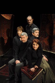 il cast di Re Lear al Teatro Oscar di Milano