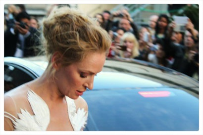 Uma Thurman a Cannes 2014 - Photo courtesy of BIFF