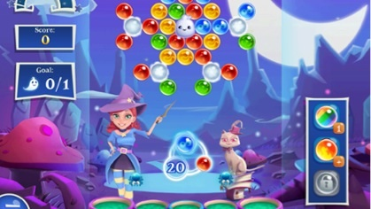 Bubble Witch 2 livello