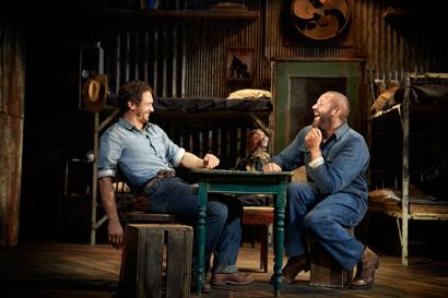 James Franco and Chris O'Dowd - Photo by Richard Phibbs