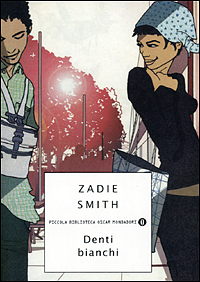 copertina denti bianchi Zadie Smith