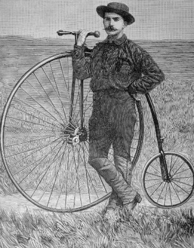 Thomas Stevens e i suoi impegnativi mustacchi