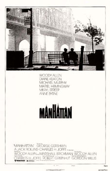 woody allen manhattan_poster