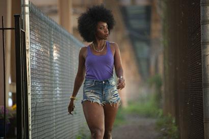 Teyonah Parris in Chi-Raq di Spike Lee (c) Parrish Lewis