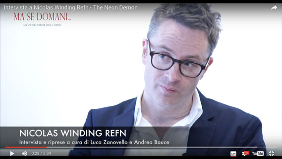 CINEMA - Intervista al regista Nicolas Winding Refn