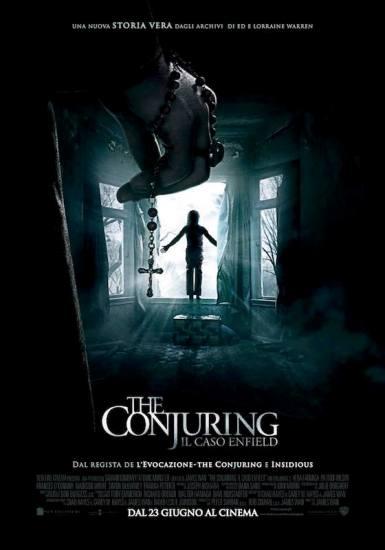 Il poster italiano di The Conjuring - Il caso Enfield