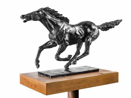 Cavallo in bronzo di Francesco Messina - Foto: ufficio stampa