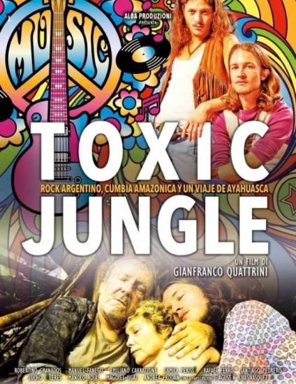 Il poster italiano di Toxic Jungle