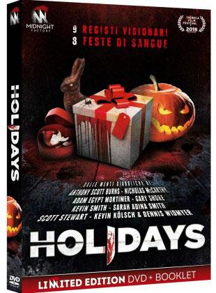 Il DVD di HOLIDAYS