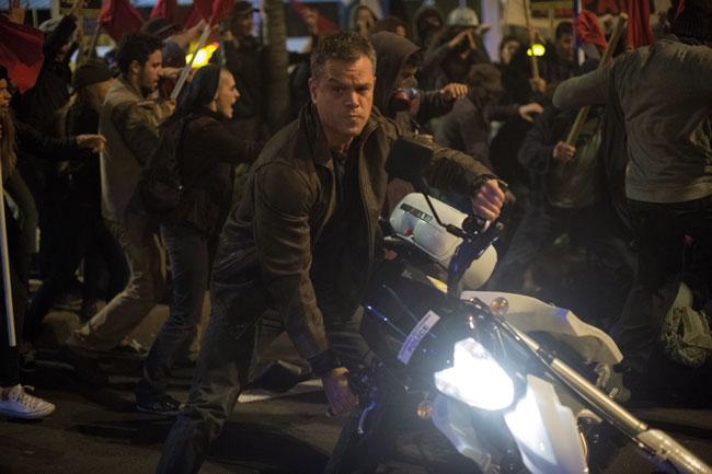 Matt Damon in una scena del film Jason Bourne © Universal Pictures