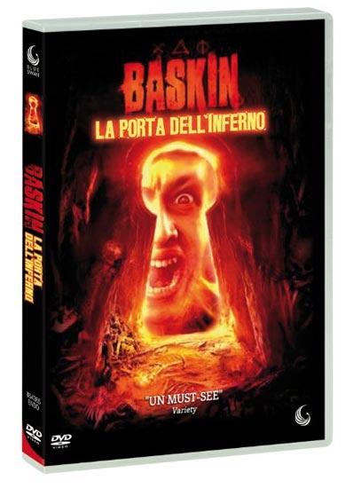 La copertina del DVD italiano di BASKIN