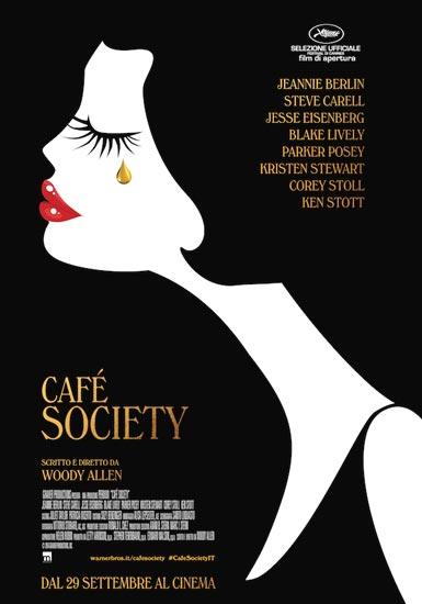 Il poster italiano di Café Society