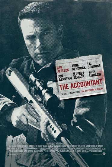Il poster italiano del film The Accountant