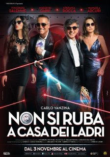 Il poster ufficiale di Non Si Ruba a Casa dei Ladri