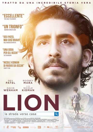 Il poster italiano del film Lion - La strada verso casa