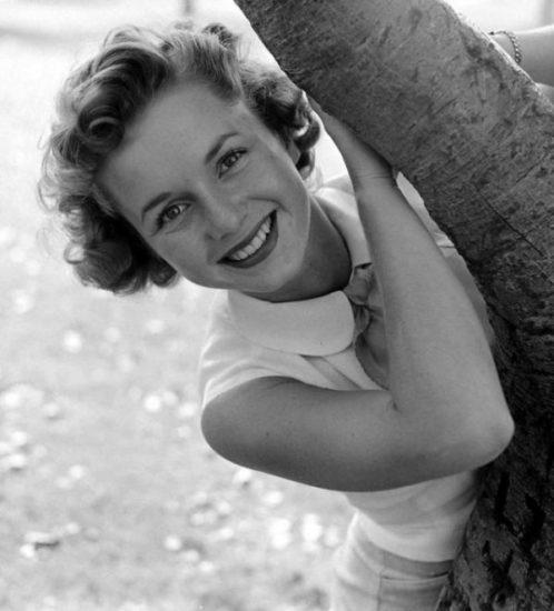 L'attrice e star di Hollywood Debbie Reynolds