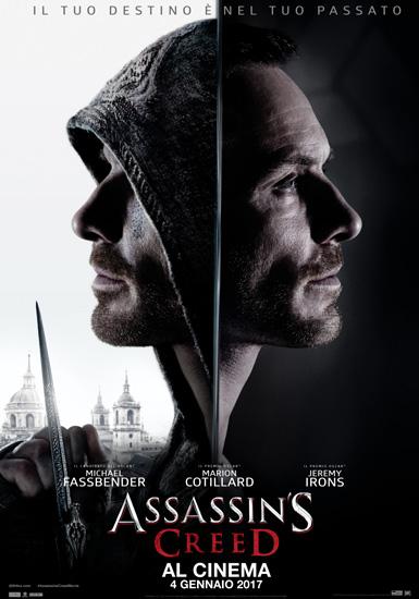 Il poster italiano di Assassin's Creed