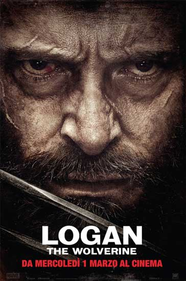 Il poster italiano del film LOGAN - THE WOLVERINE