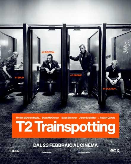 Il poster italiano di T2 Trainspotting