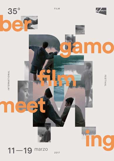 Il poster del Bergamo Film Meeting 2017