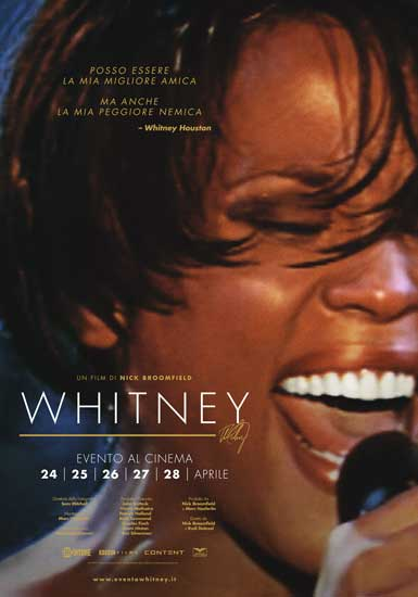 La locandina del film WHITNEY - CAN I BE ME?