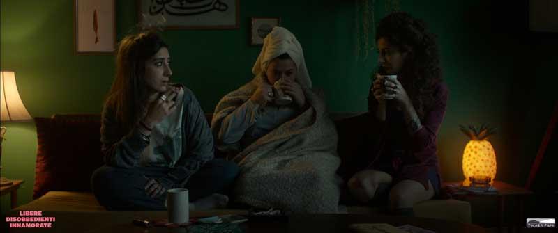 Una scena del film In Between - Photo: courtesy of Tucker Film
