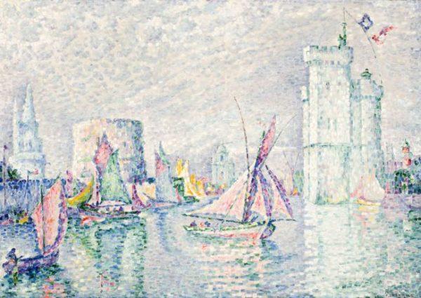 Paul Signac, La rochelle, 1912 - mostra opere Lady Phillips