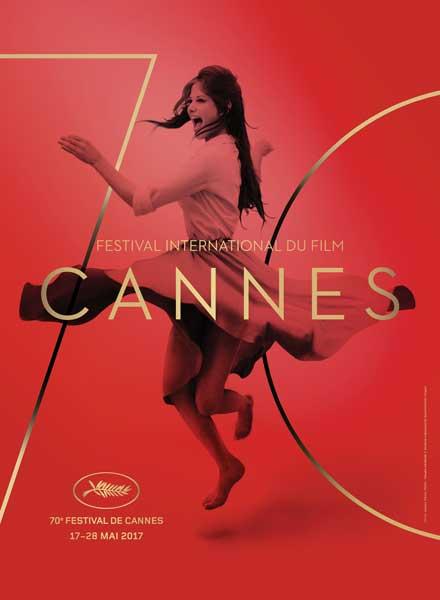 Il poster ufficiale del Festival de Cannes 2017 © Bronx (Paris). Photo: Claudia Cardinale © Archivio Cameraphoto Epoche/Getty Images