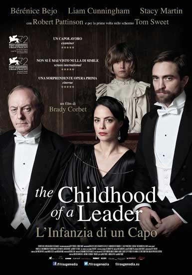 Il manifesto italiano del film The Childhood of a Leader – L'infanzia di un capo
