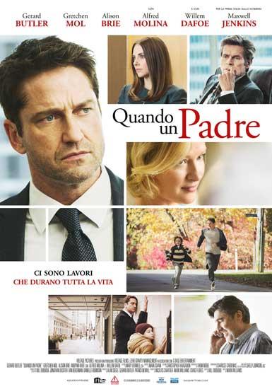 la locandina italiana del film Quando un Padre