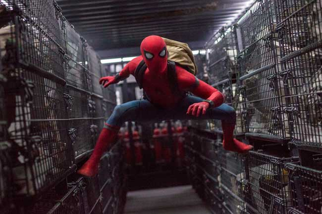 Una scena di Spider-Man: Homecoming - Photo: courtesy of Warner Bros. Entertainment Italia