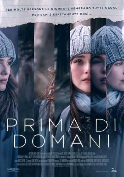 Il poster italiano del film prima di Domani