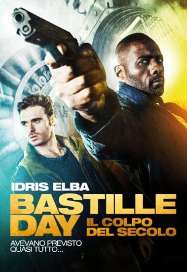 il poster italiano del film Bastille day