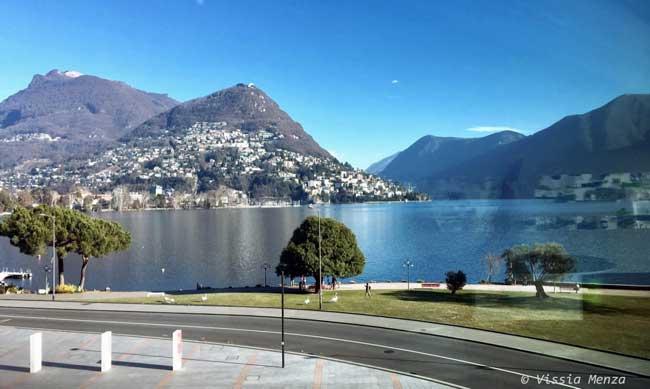 La vista di Lugano dal LAC © Vissia Menza. all rights reserved