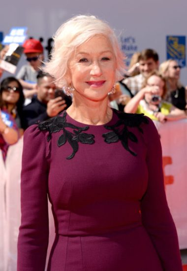 Helen Mirren a Toronto - Photo by Jaremy Chan, Getty Images for TIFF