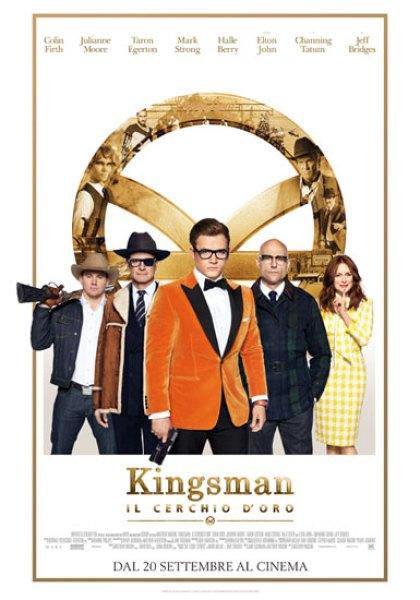 il poster italiano del film Kingsman 2