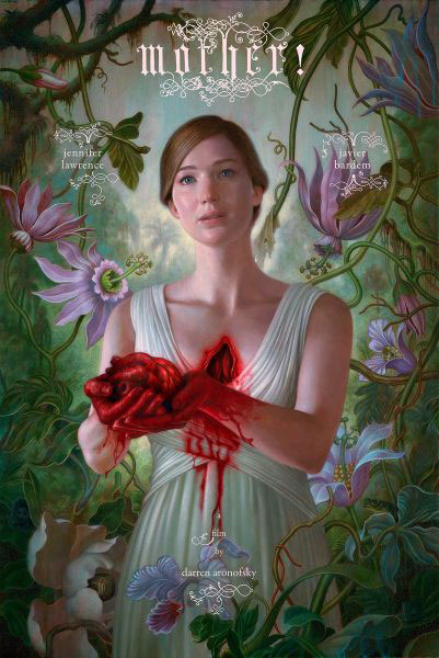 il character poster di Madre! con Jennifer Lawrence