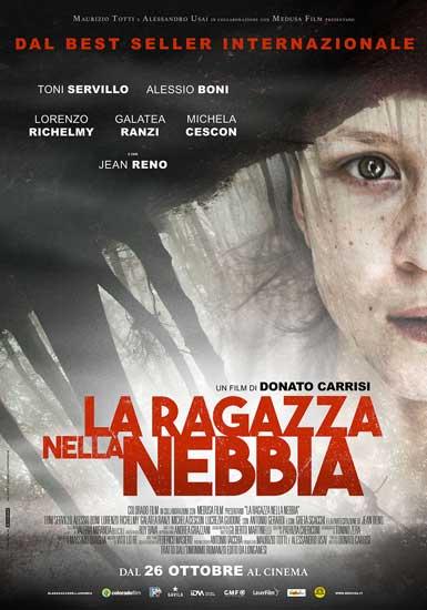 il poster del film La Ragazza nella Nebbia