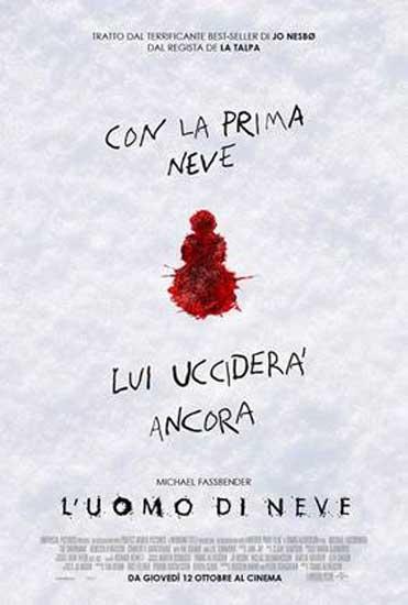 il poster italiano del film L'Uomo di Neve