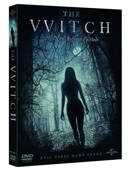 La cover del DVD del film horror The Witch