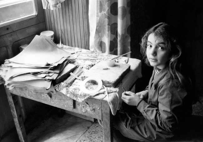 Una foto di Mimmo Jodice in mostra alla Biennale Foto/ Industria